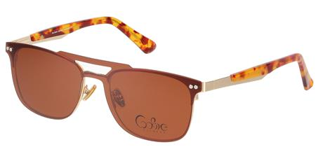 Cooline 118 demi brown/gold 2V1 52/18/140 + clip-on