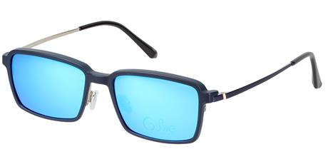 Cooline 119 navy 2V1 56/17/145 + clip-on