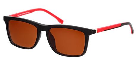 Cooline 056 black/red c2  2V1 54/16/142 + clip-on