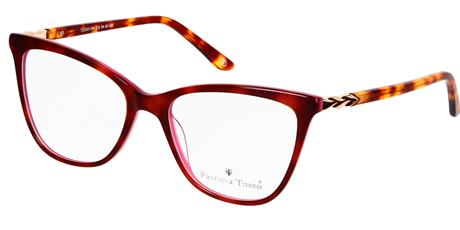 TUSSO-354 c6 tortoise shell red/silvery 54/18/140