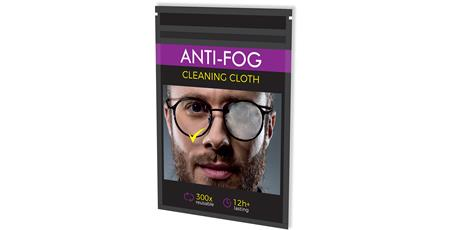 Hadřík z mikrovlákna ANTI-FOG CLEANING CLOTH