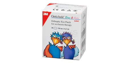 3M okluzor náplasťový Opticlude Junior 50 x 62 mm,  30 ks  2537PE (BS443912)