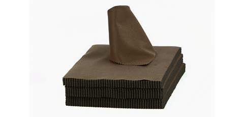 Microfiber 25 - dark brown 220-240g/m2 (100 St.)